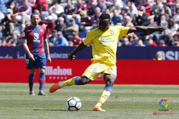 ROUND-UP: Etebo Returns In Las Palmas Defeat; Ideye, Eze, Kayode In Action