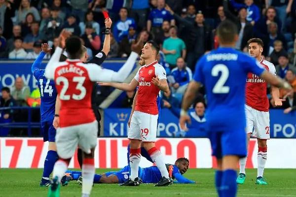 FA Fine Arsenal £20K Over Improper Conduct Vs Leicester