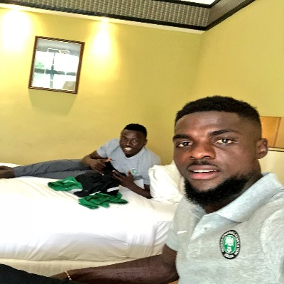 Ogu Arrives In Super Eagles Camp, Moses Expected