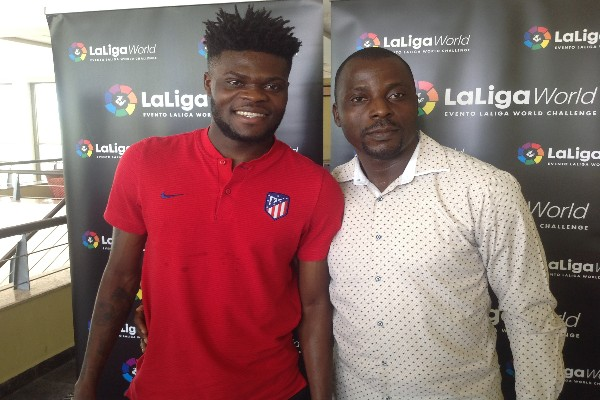 Atletico's Ghanaian Star Partey: I Admire Mikel, Kanu; I Wish Super Eagles World Cup Success