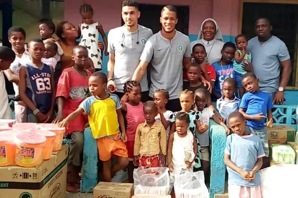 Balogun, Troost-Ekong Donate To Uyo Children's Home