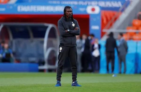 Senegal coach Cisse Sad Over Draw With Japan