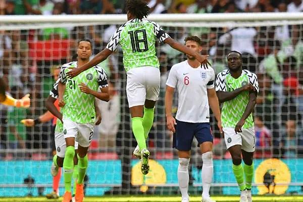 Rohr: How We Changed Tactics Vs England; Iwobi, Ndidi Fit For Czech Republic