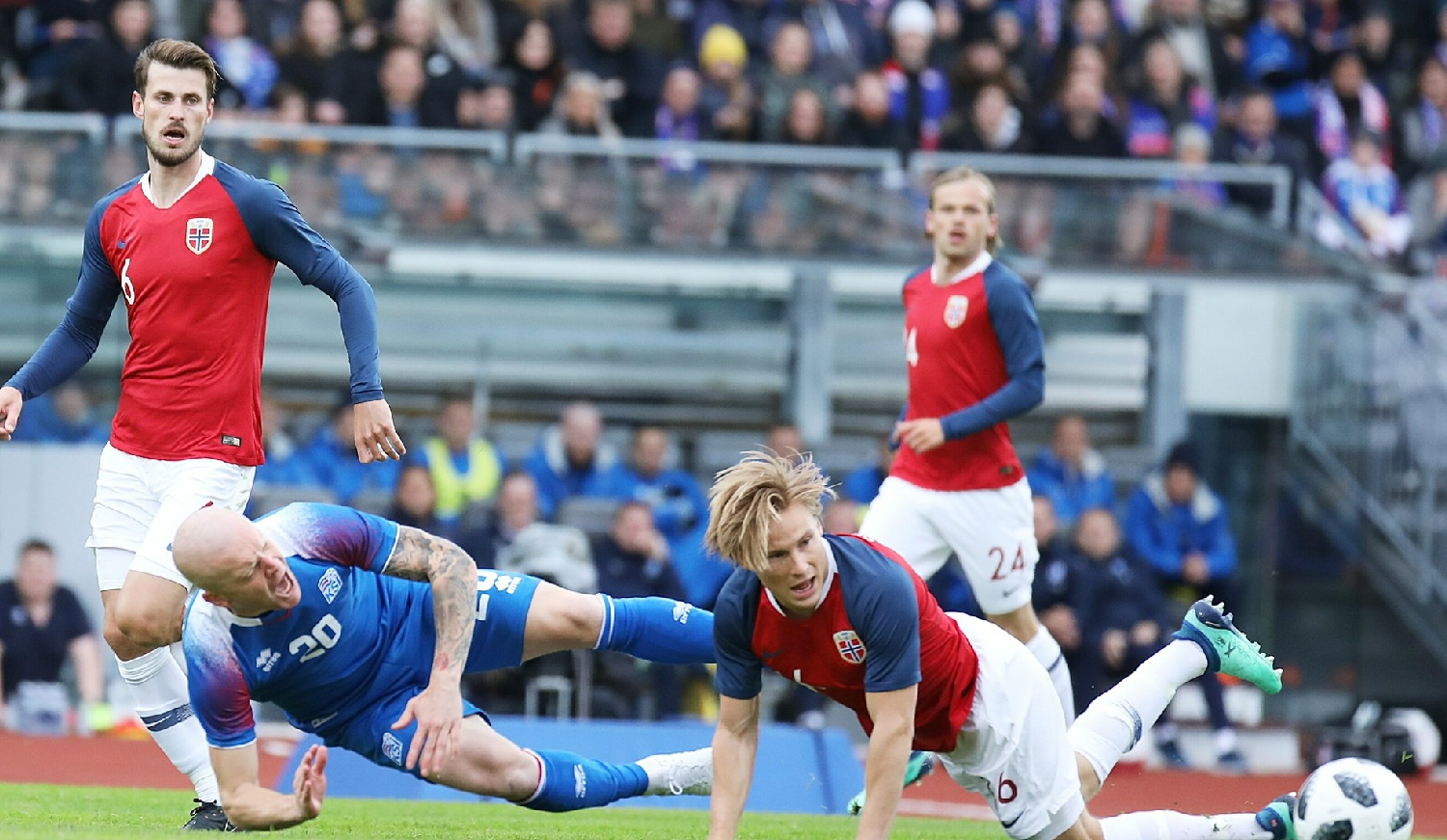 Int'l Friendlies: Eagles' World Cup Foes Iceland Lose At Home To Norway, Austria Shock Germany