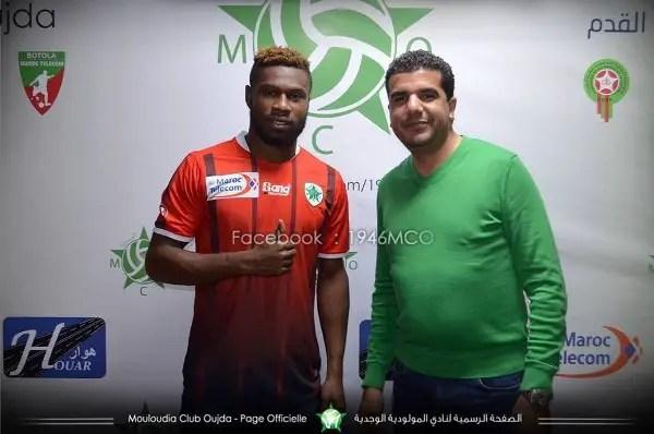 Nigerian Defender Kalu Orji Joins Moroccan Club Mouloudia Oujda