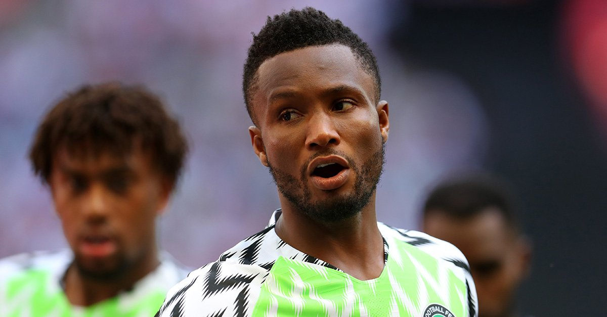 Mikel Pumped Up For Russia 2018 World Cup Action