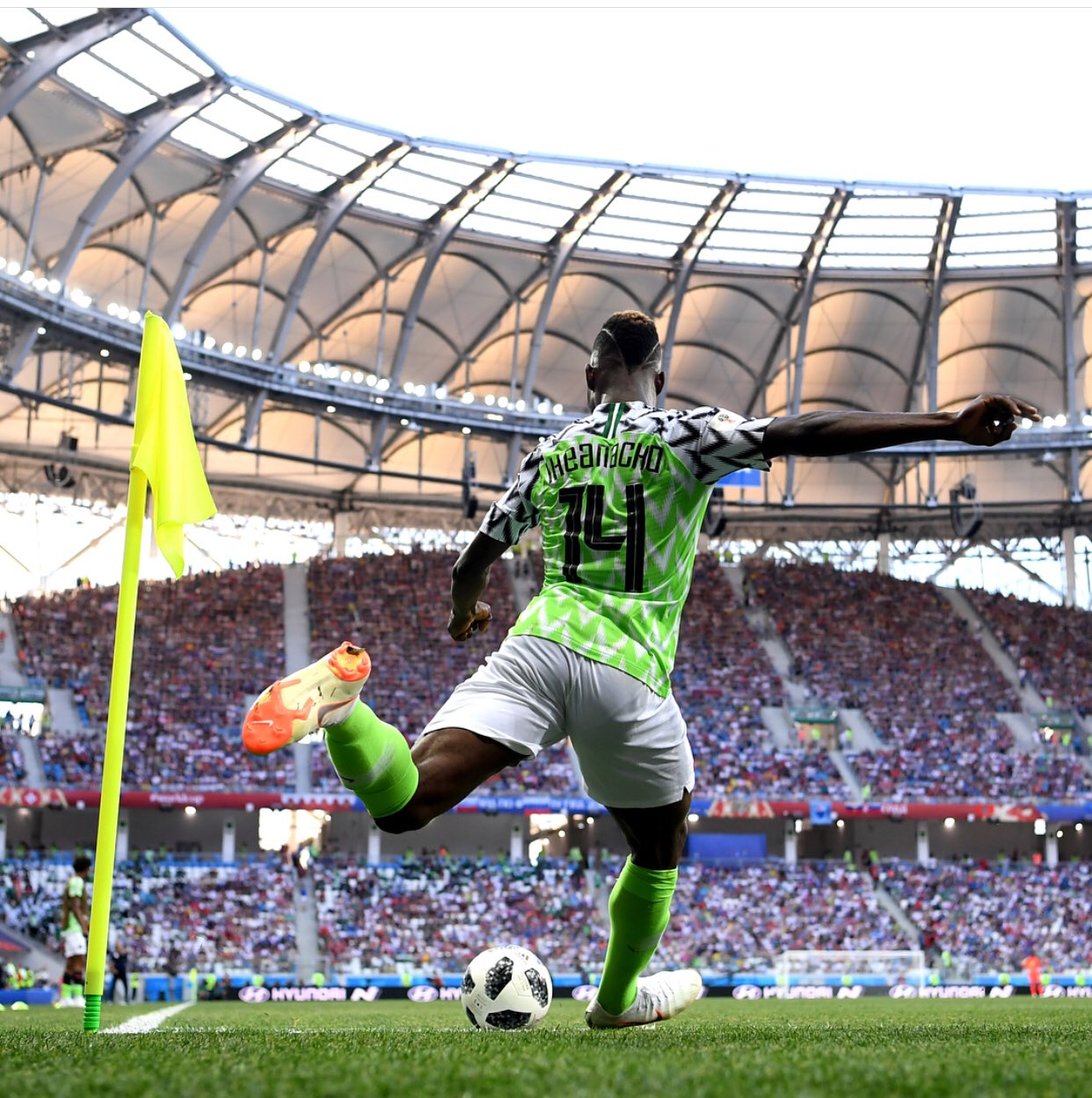 """Iheanacho Thanks Nigerians For Support, Hails """"Governor Musa"""" After Iceland Brace"""