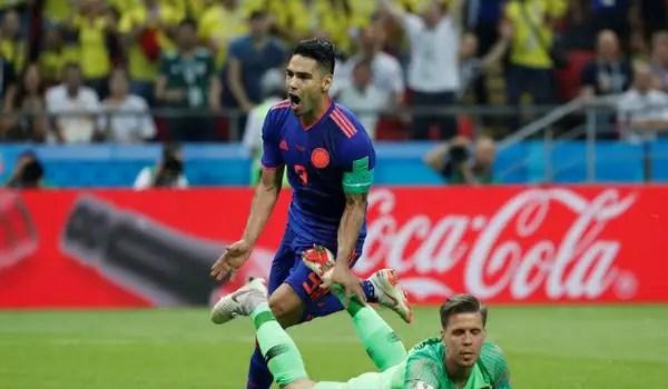 Falcao On Target As Colombia Send Poland Crashing