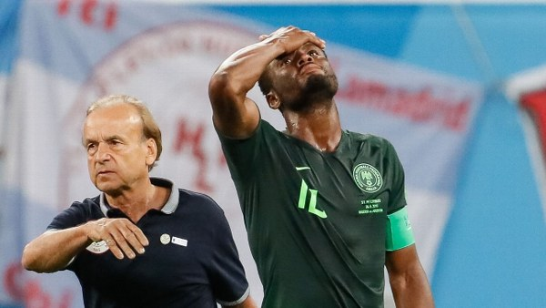 Rohr Wants Mikel To Continue As Eagles Captain; Shifts Focus To 2019 AFCON Qualifiers