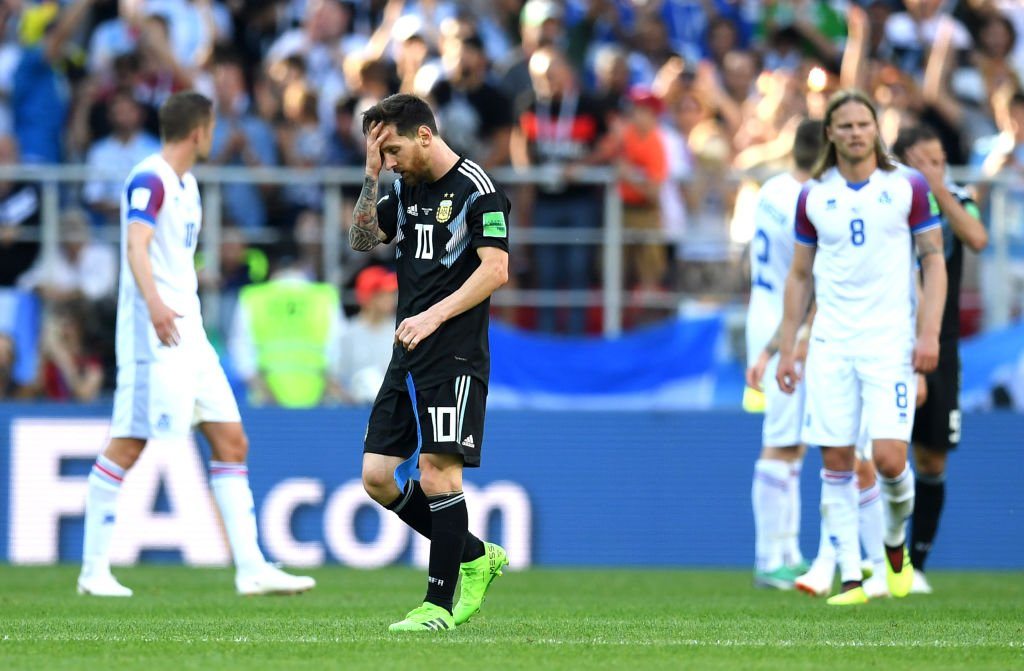 Messi: Hold Me Responsible For Iceland Draw; Argentina Deserved To Win, We'll Bounce Back