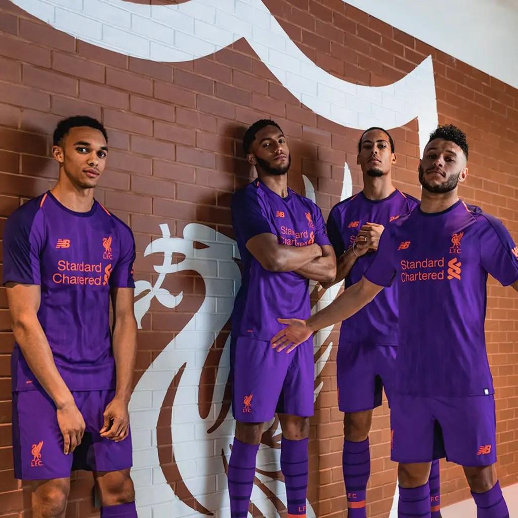 Liverpool Unveil Away Kit For Next Season