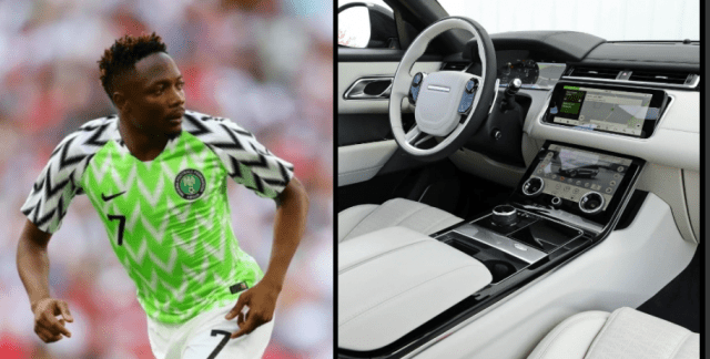 Ahmed Musa Acquires A Range Rover Velar For World Cup