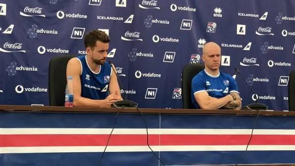Iceland Defender: We Don't Mind Red Card Vs Croatia; We'll Fight Hard