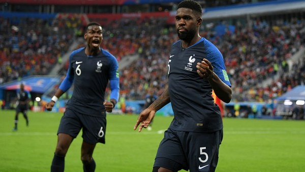 Umtiti Named Man Of The Match In France Win Vs Belgium