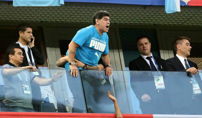 FIFA Slams Maradona Over Harsh Criticism Of Referee