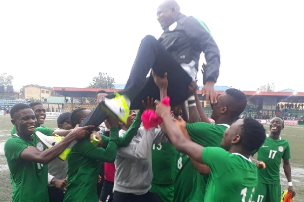 Flying Eagles Maul Mauritania 5-0 In Lagos, Qualify For 2019 AYC