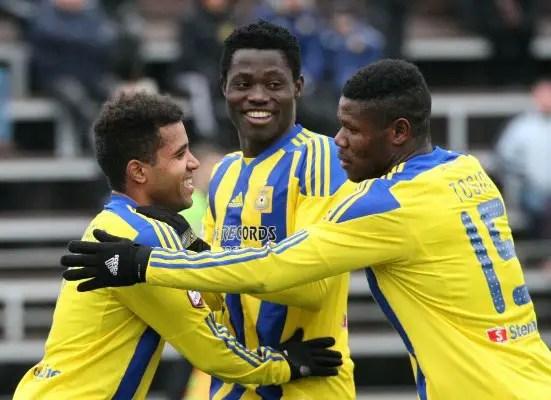 Europa League: Nigerian Forward Akinyemi Set To Continue Scoring Spree Vs Bordeaux