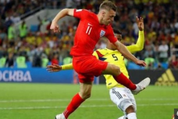 England Forward Vardy Doubtful For Q-Final Clash Vs Sweden