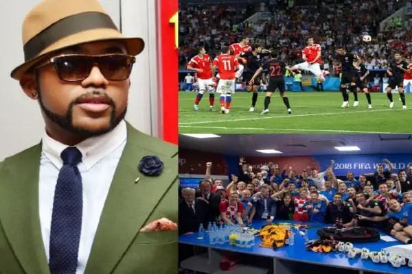 Banky W Hails Croatia Progress, Tips England To Reach World Cup For Final