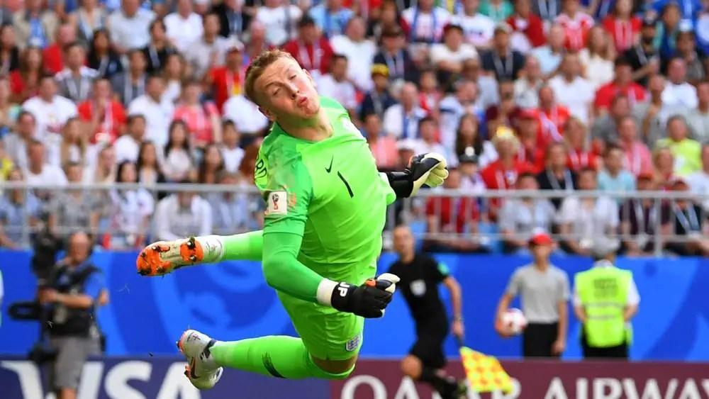 Pickford Wins MOTM Award Of Sweden Vs England