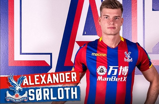 Palace Striker Pleased To Get Off The Mark