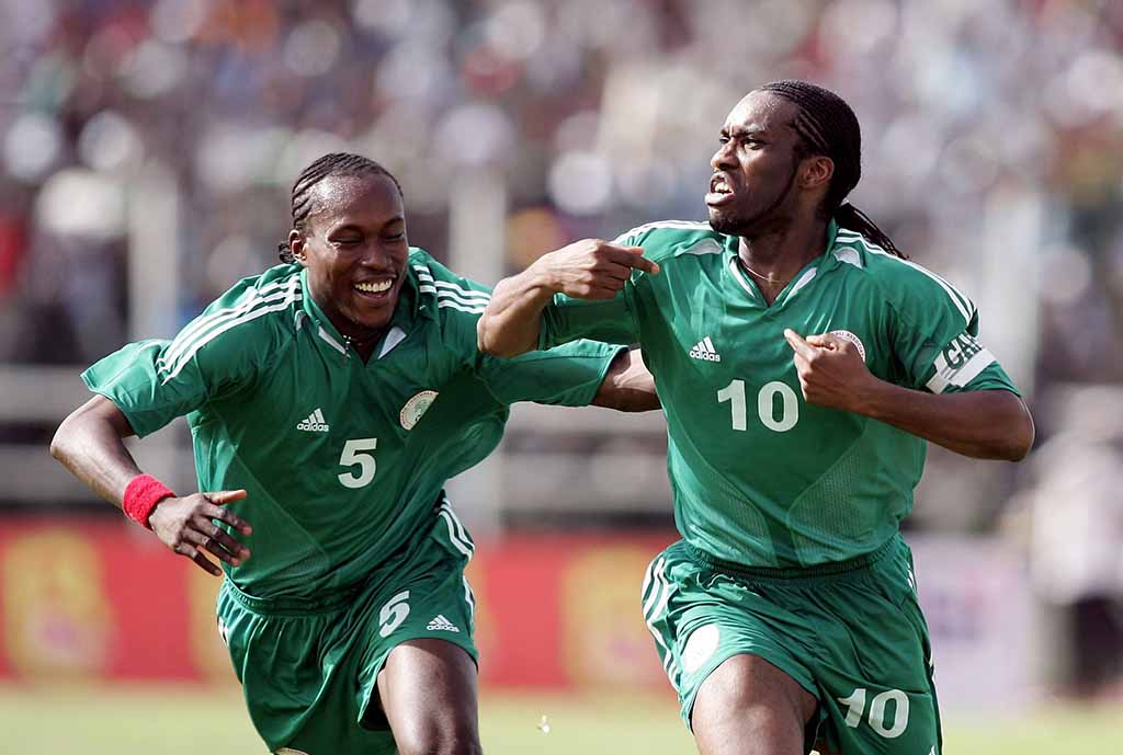 NFF, FIFA Celebrate Former Super Eagles Captain Okocha At 45