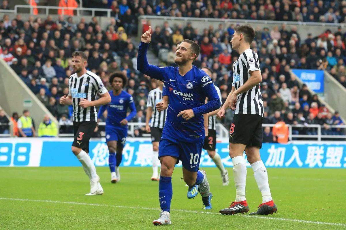 Moses Absent As Hazard's Goal, Yedlin Own-Goal Help Chelsea  Pip Newcastle