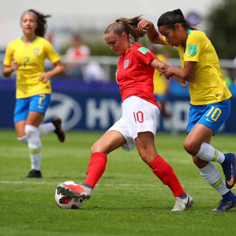 U-20 Women's W/Cup: Brazil Hold England To Draw In Group C