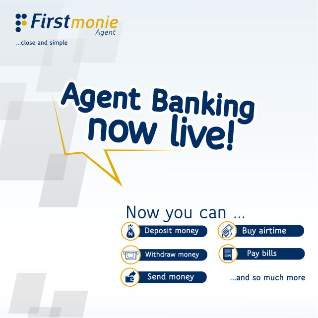 FirstMonie Agent – Now In Every Neighbourhood