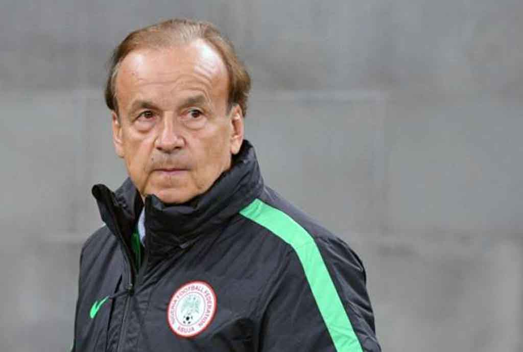 Rohr Invites Ezenwa, Udoh, Adeleye Two Other Home Based Stars For Liberia Friendly