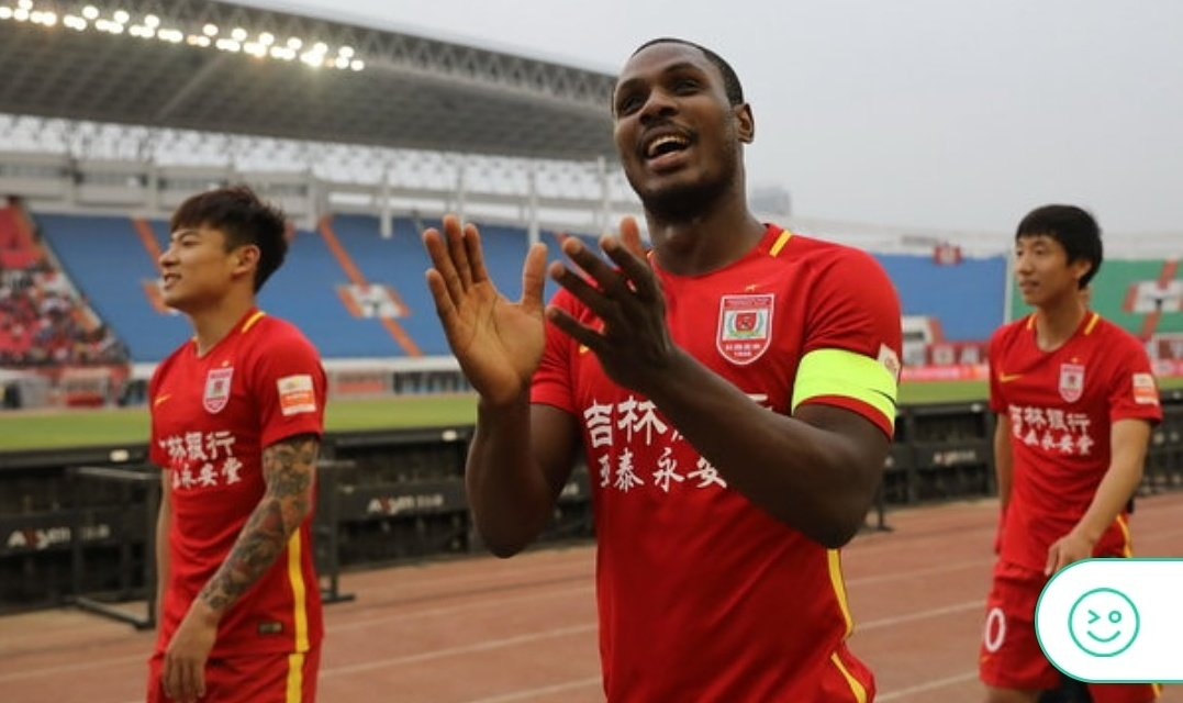 Red Hot Ighalo Bags Goal No.12 In Changchun Yatai Home Draw Vs Shenhua