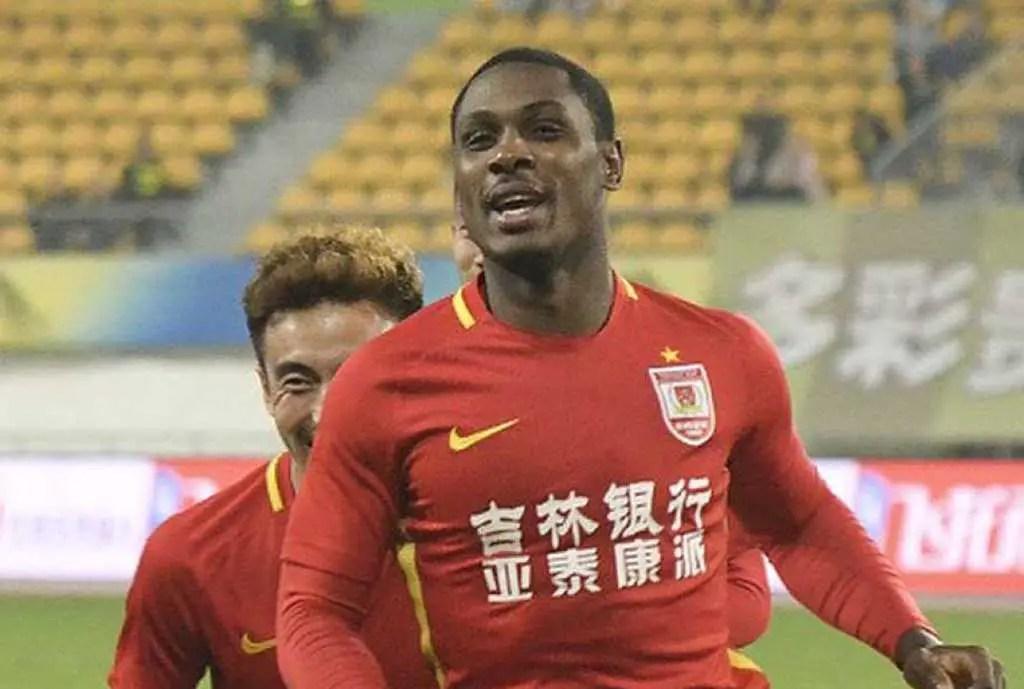 CSL: Ighalo Bags Goal No.15 As Changchun  Lose At Guangzhou R&F, Mikel Returns For Tiajin Teda