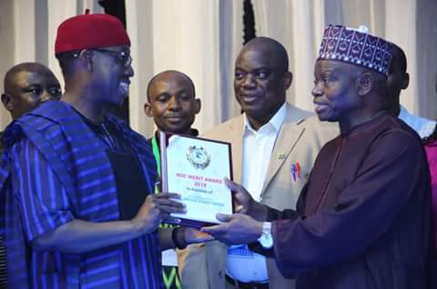 Gov Okowa, Falilat, Okagbare, Ikhuoria Sparkle At NOC Awards