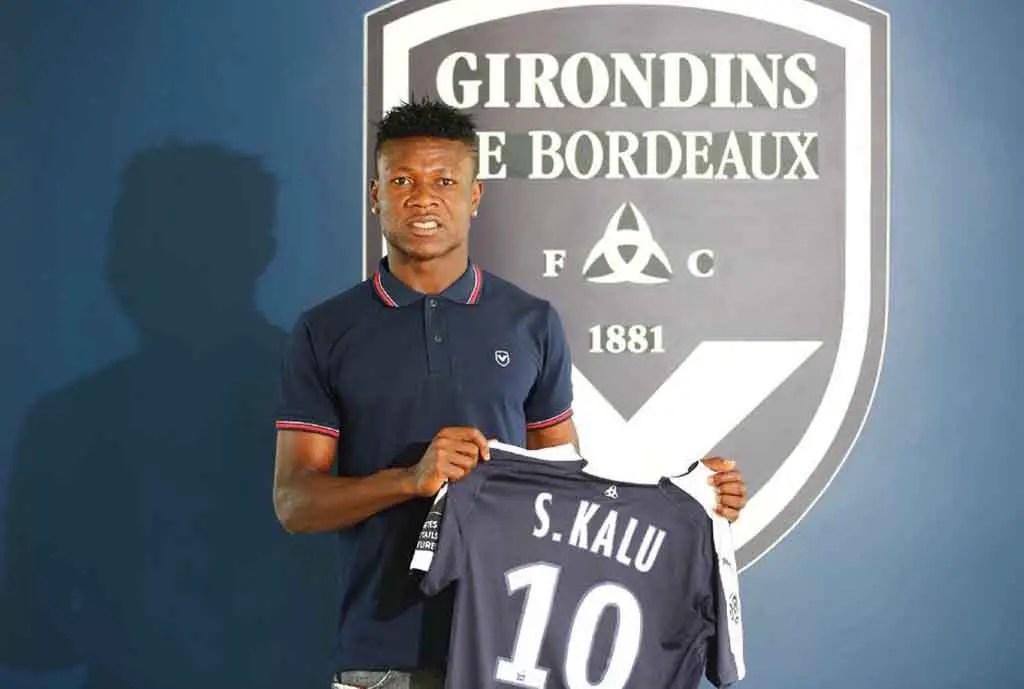 Europa League: Kalu May Make Bordeaux Debut Vs Former Club Gent