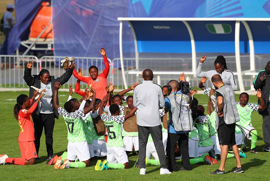 NFF: Falconets Will Only Get Better After Reaching W/Cup Q-Finals