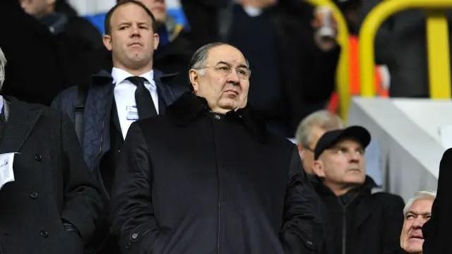 Usmanov To consider Everton Investment