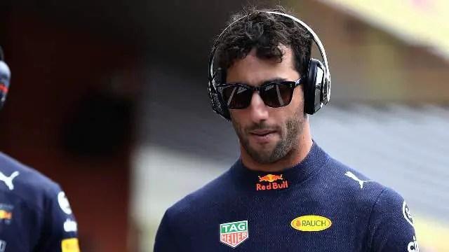 Ricciardo denies Red Bull bad blood