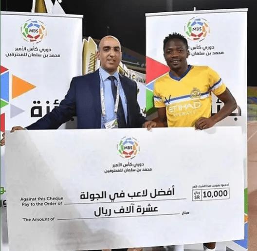 Musa Wins Saudi League Player Of The Week Award