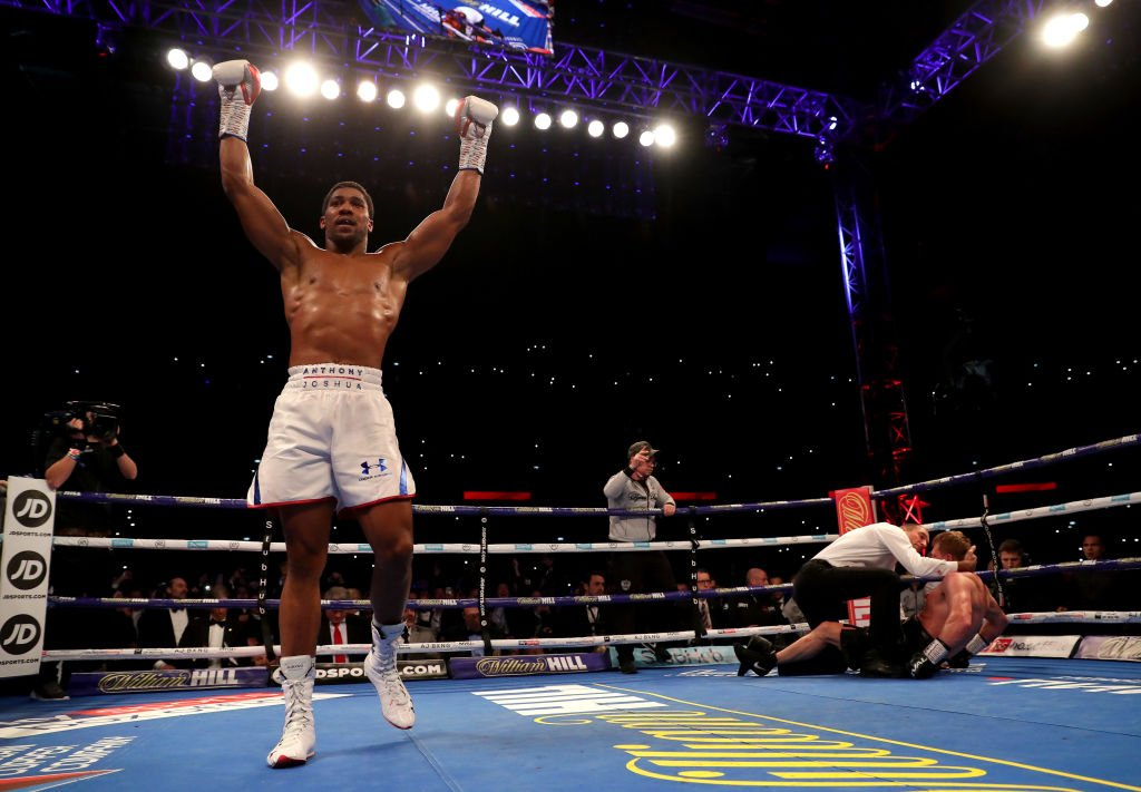 Joshua Knocks Povetkin Out To Defend World Titles