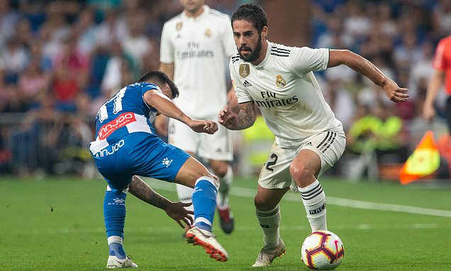 Real Madrid Star Isco Discharged From Hospital After Surgery
