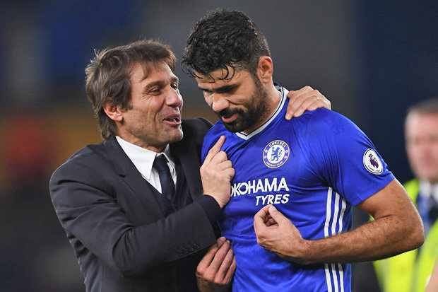 Costa Recalls Bitter Time Under Conte, Taunts: 'Look Where Coach Is Now'