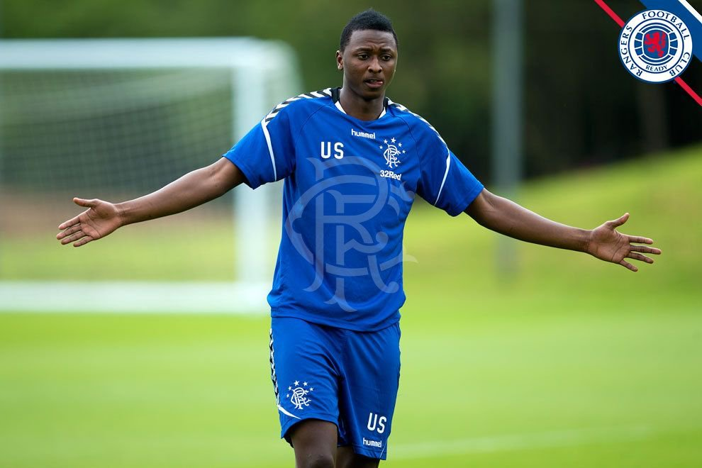 Gerrard Tasks Umar To Fight For His Place In Rangers
