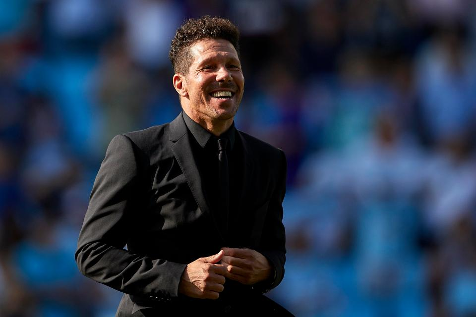 Simeone Sees Atletico At Real's Level