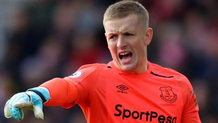 Pickford Outlines Everton Goals