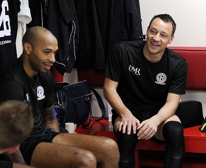 Aston Villa Set To Name Henry Manager, Terry As Assistant
