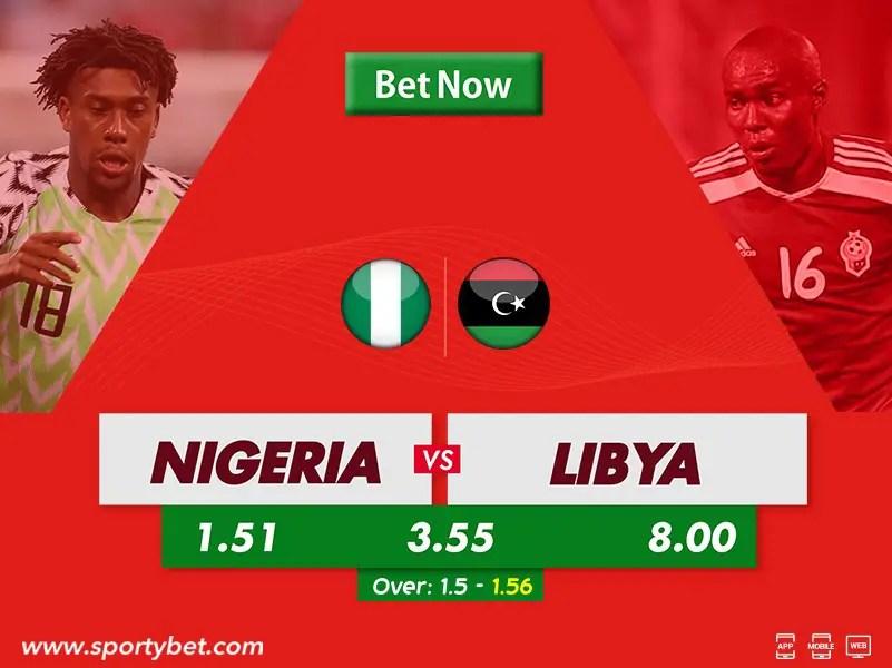 SportyBet Preview: Nigeria v Libya [AFCON Qualifiers]