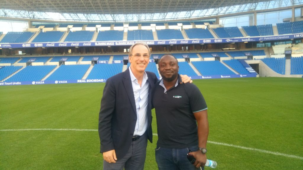 Real Sociedad Legend, Gorriz:  We Can Never Forget Adepoju