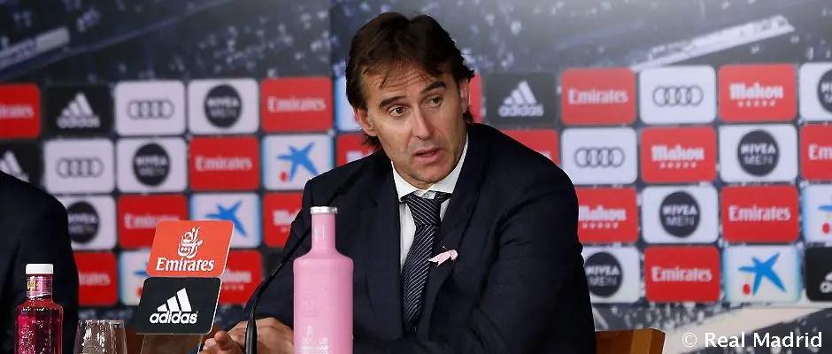 Real Madrid Manager, Lopetegui: My Job Is Safe