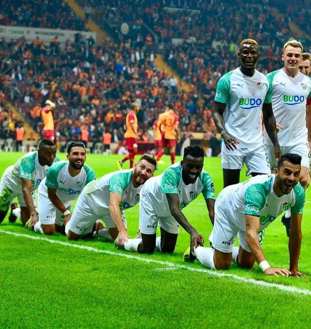 Abdullahi Hails Bursaspor Teammates For Hard-Earned Away Draw