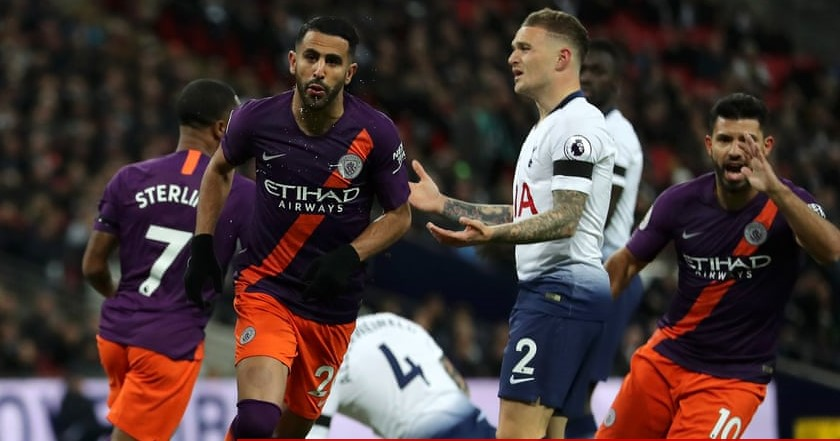 Mahrez Strikes As City Edge Tottenham 1-0 At Wembley